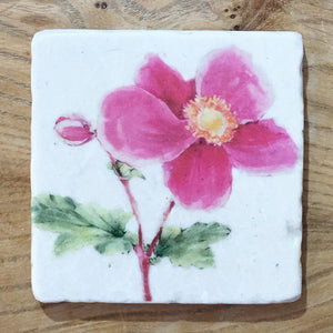 Marble Coaster - Pink Mallow