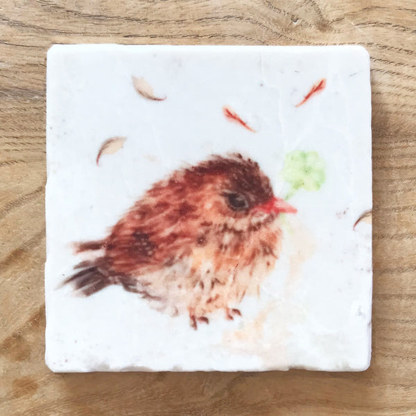 Marble Coaster - Songthrush