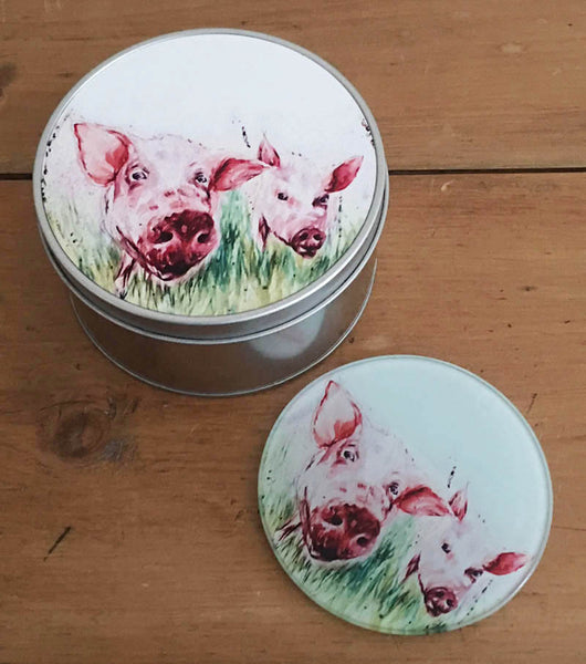 Coaster Gift Set - Two's Company