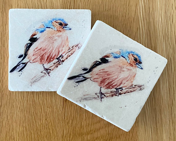 Marble Coaster - The Usual Suspects - Chaffinch