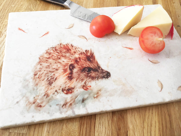 Small Sharing Board - Little Hedgehog