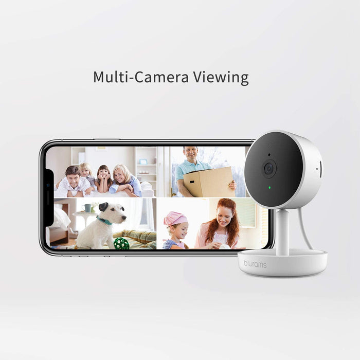 blurams Home Pro, Security Camera 1080p FHD (Factory Refurbished)