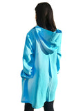 100% Linen Machine Wash and Dry Personal Protective Gown - Caribbean