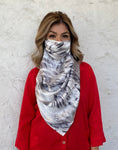 Silks by Fridaze Premium Face Masks Scarf - Brown Animal