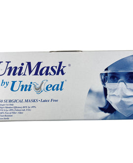 UniSeal Disposable Surgical Masks (CE Certified) box of 50 pcs