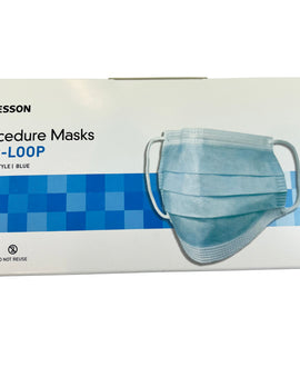 Mskesson Disposable Surgical Masks Non Sterile ASTM level 1 (box of 50 pcs)