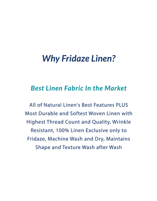 Adults - Fridaze 100% Linen All Day Work Masks incl. one PM 2.5 Filter - Dune Stripes  WHOLESALE