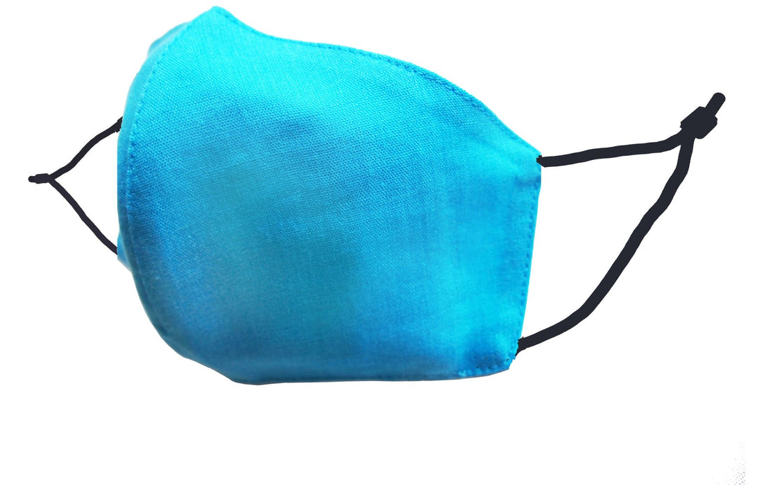 Adults - Fridaze 100% Linen Face Mask incl. one PM 2.5 Filter - Caribbean WHOLESALE