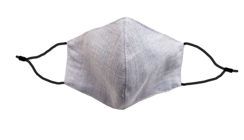 Adults - Fridaze 100% Linen Face Mask incl. one PM 2.5 Filter - Pebble