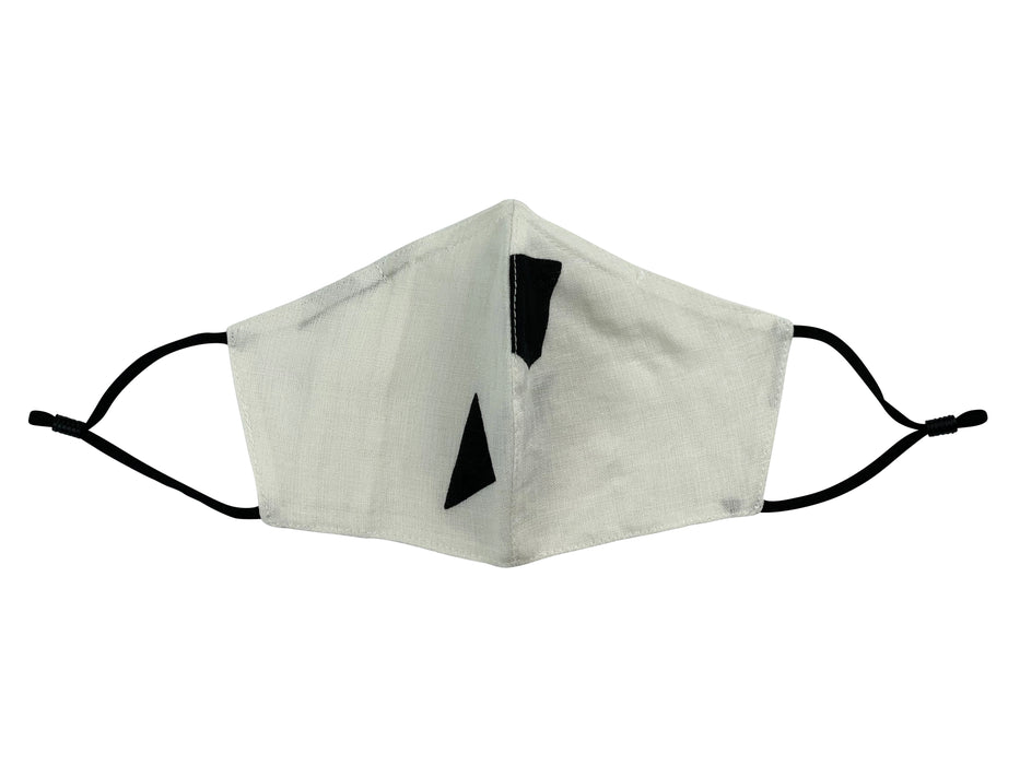Adults - Fridaze 100% Linen Face Mask (No Filter Included) - Shapes of White