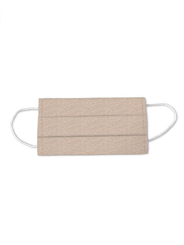 Fridaze 100% Linen Medical Mask Cover - Sand