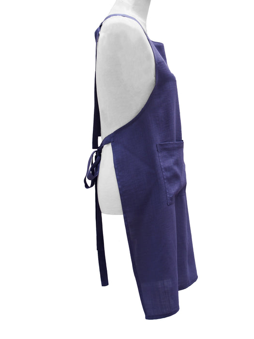Premium 100% Wrinkle Resistant Linen Aprons from Fridaze - Stone