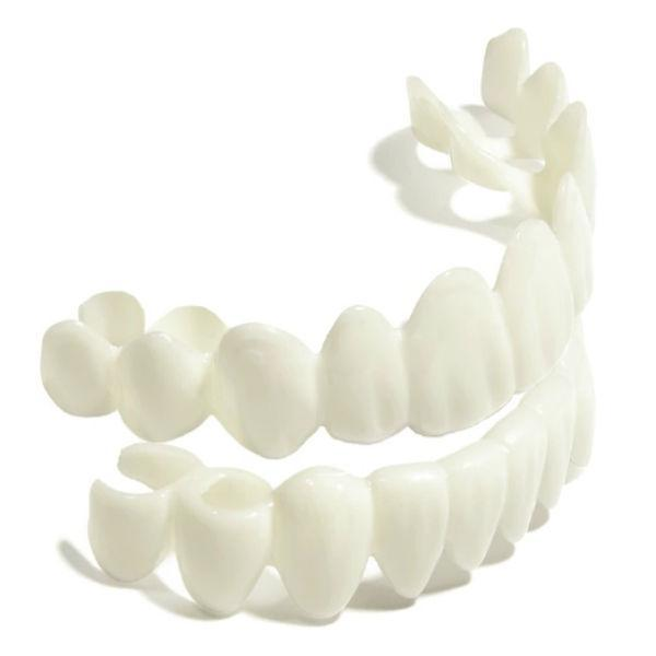 2 Pairs of The White Bright's Snap on Veneers instant smile