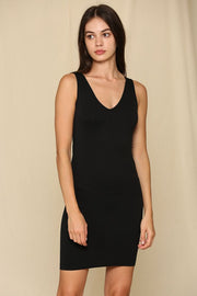 Essential Black Slip Dress