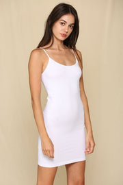 Essential White Slip Dress