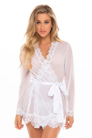 Sheer Bridal Robe