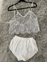 Black and White PJ set