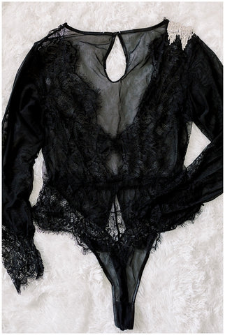 Elena Bodysuit- Black