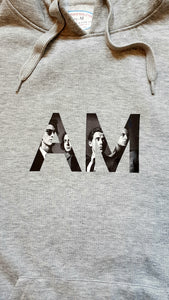 'AM monogram' hoodie design - by Shimmeroo