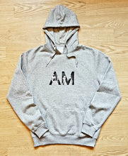 Load image into Gallery viewer, 'AM monogram' hoodie design - by Shimmeroo