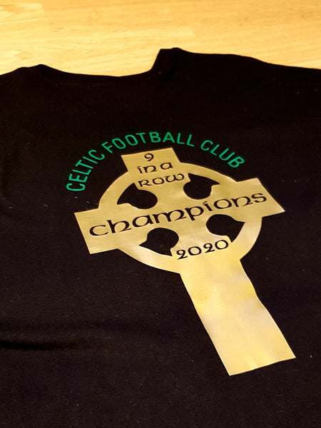 Celtic FC '9 in a row' T-shirt