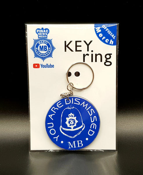 'Dismissed' Keyring
