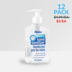 315ml – Panita® Clear Gel Hand Sanitizer