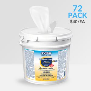 800 Wipes – zytec® Disinfectant Wet Wipes