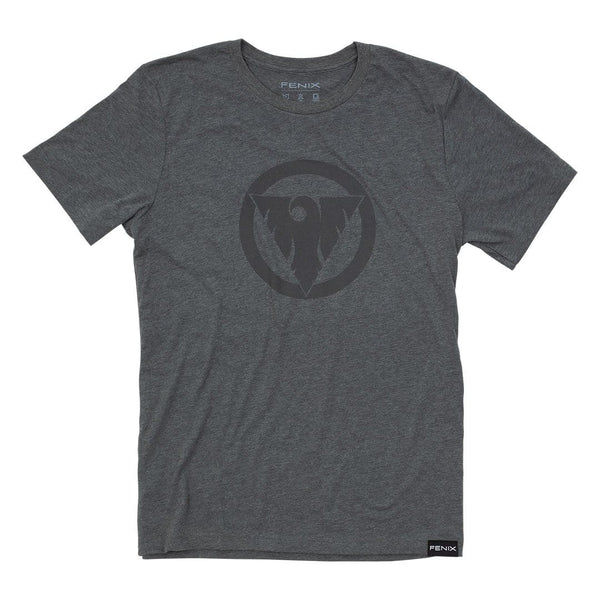 """Victory Through Surrender"" Tonal Tee - Grey"