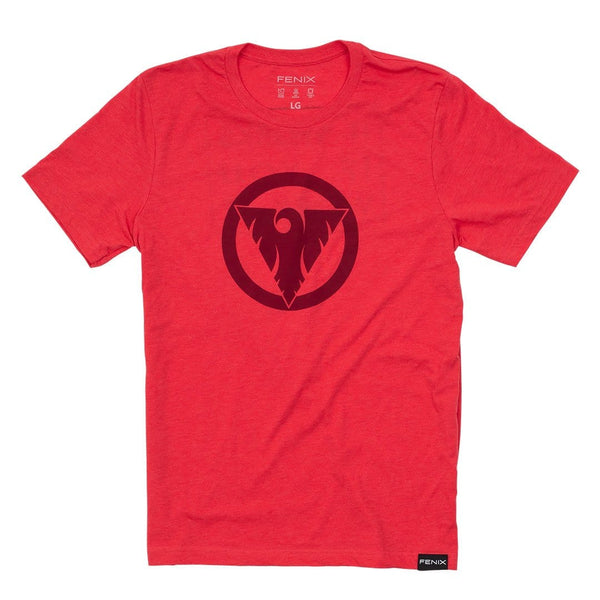 """It Works If You Work It"" Tonal Tee - Red"