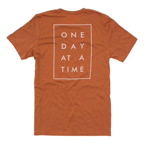 """One Day At A Time"" Tonal Tee - Autumn"