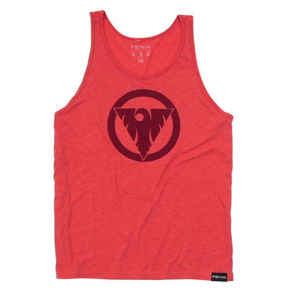 """It Works If You Work It"" Tonal Tank - Red"