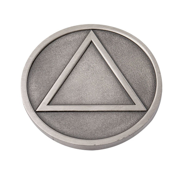 Recovery Medallion - Antique Silver