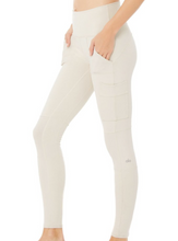 Load image into Gallery viewer, High Waist Cargo Legging in Bone