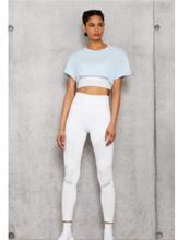 Load image into Gallery viewer, 7/8 High-Waist Moto Legging