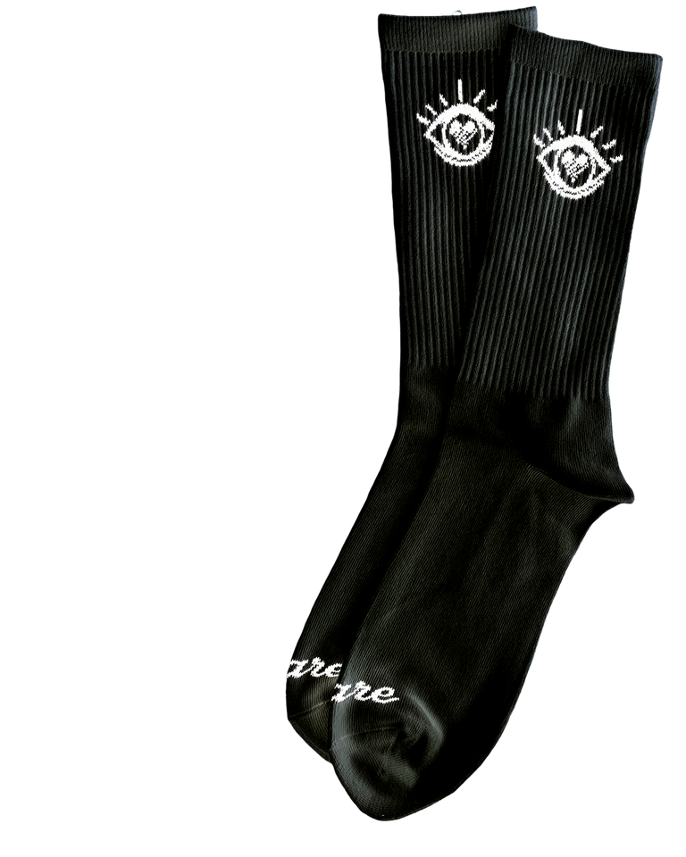 Eye Classic Crew Socks Black