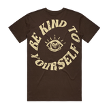 Be Kind To Yourself Premium Tee-Chocolate