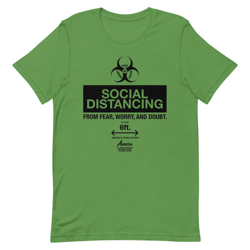 Social Distancing Basic Tees (4 colors)