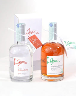 Grappa Artigianale L'Ones al Mirtillo Nero Selvatico 500 ml.