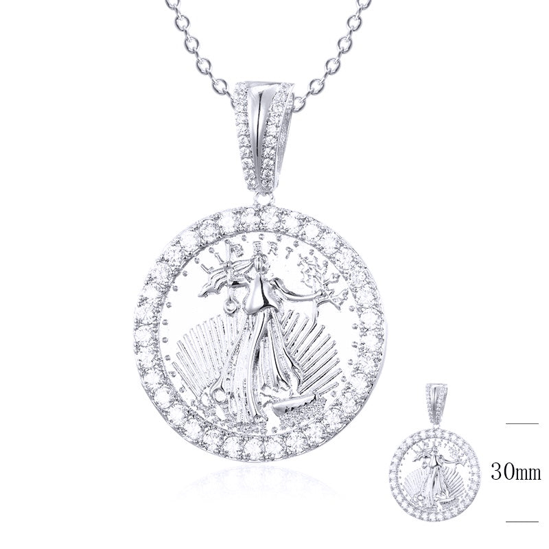 925 Liberty Coin Pendant