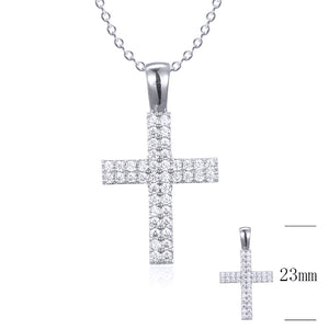 Small Flat Micropave Cross