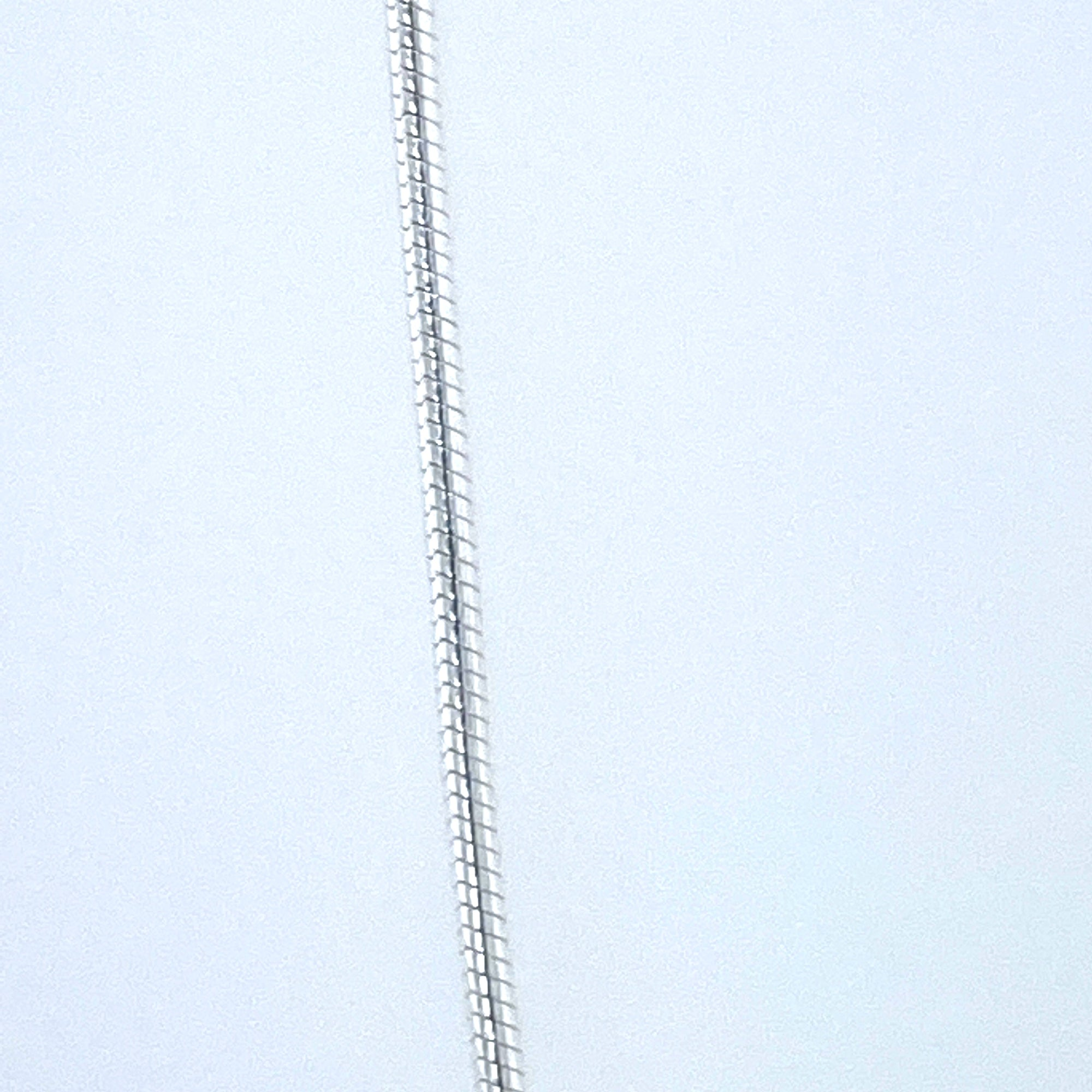Sterling Silver Round Snake Chain