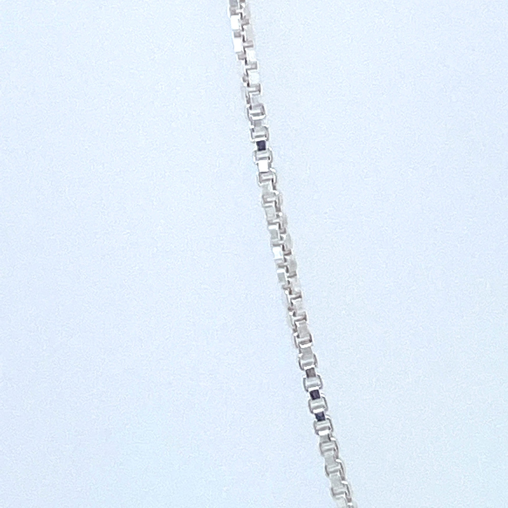 Sterling Silver Box Chain 015 Gauge