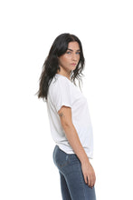 Load image into Gallery viewer, Slouchy V-Neck Tee