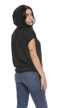 Load image into Gallery viewer, Vintage Jersey Hooded Poncho