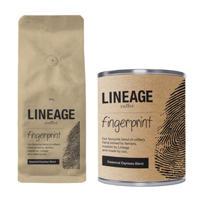Fingerprint Seasonal Espresso