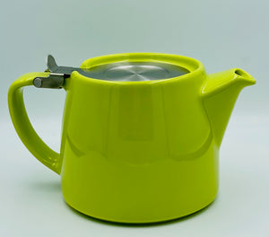 Stump Teapot with Lid and Removable Strainer