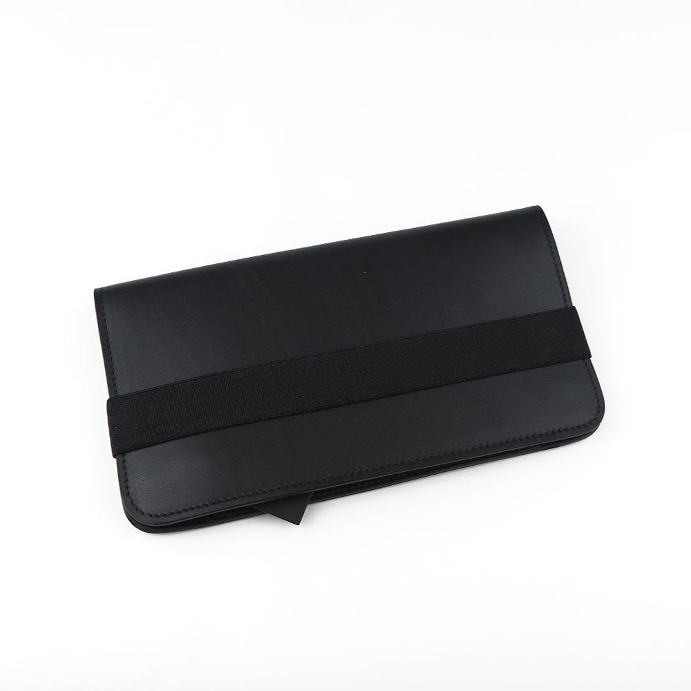 BIG WALLET/14 Black smooth