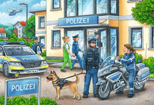 Load image into Gallery viewer, Police at Work! 2x24pc Puzzle