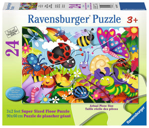 Cute Bugs 24pc Floor Puzzle